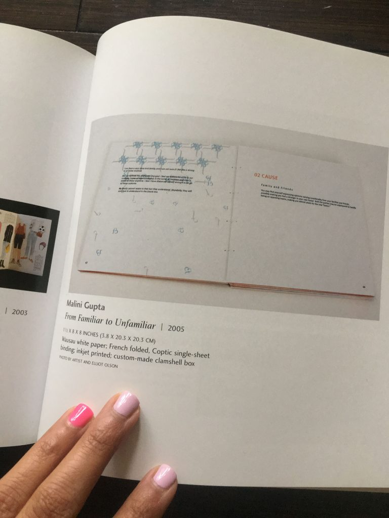Book in which my graphic design work was published